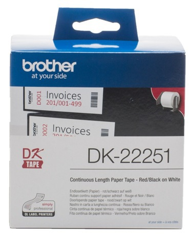 TAPE BROTHER DK22251 62MM