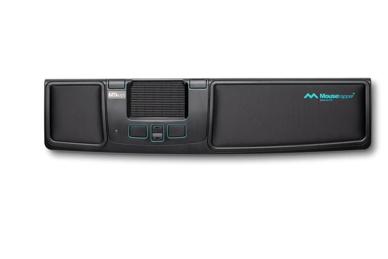 MOUSETRAPPER ADVANCE BLACK AND TURQUOISE