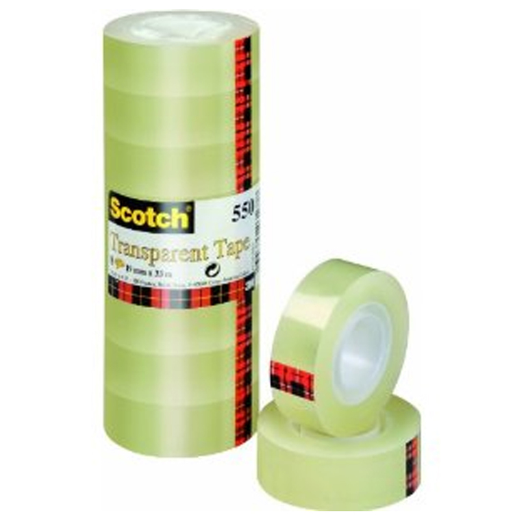 TAPE SCOTCH 5501933 TRANSP 19MMX33M