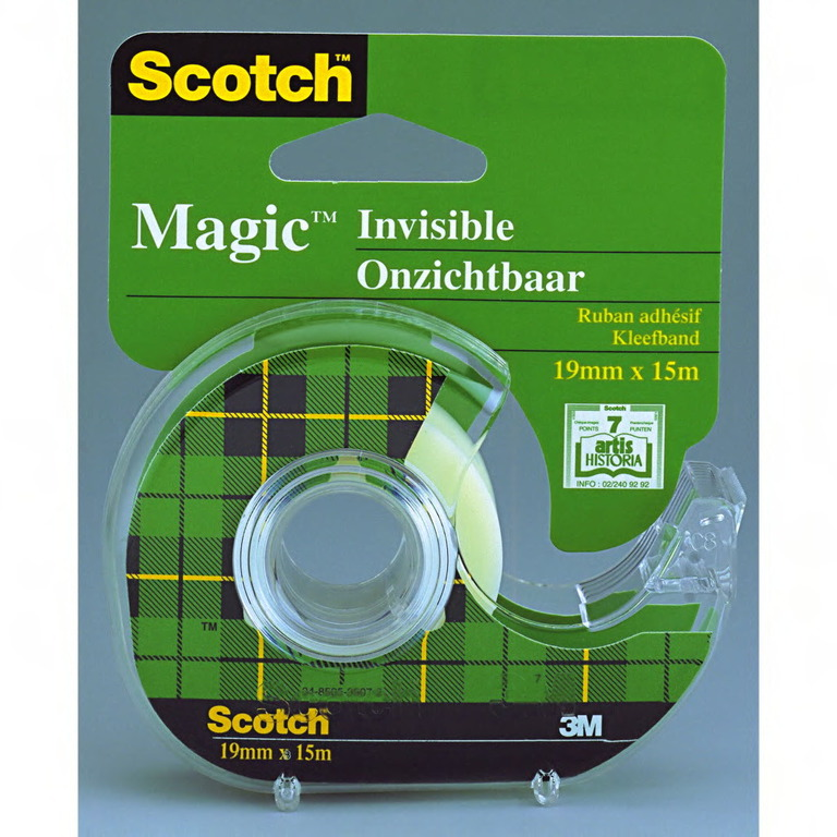 TAPE SCOTCH 1915D MAGIC 19MMX15M I DISP