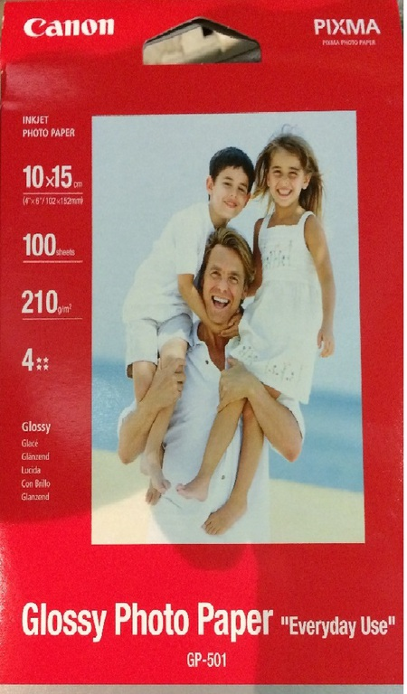 PAPIR CANON 10X15 FOTO GLOSSY(GP-501)210G EVERYDAY USE(100)