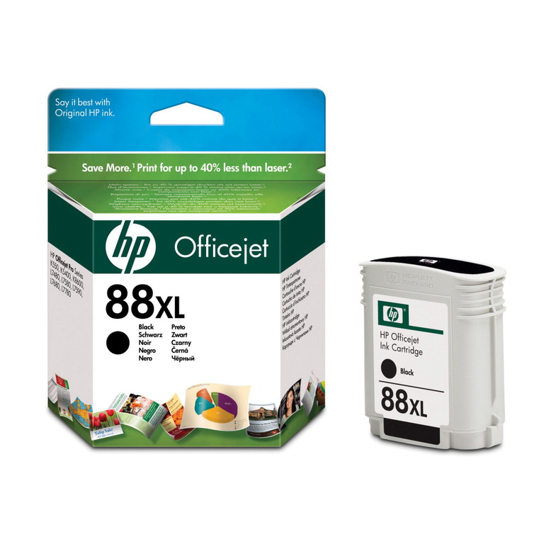 BLEKK HP NO88 OFFICEJET PRO K550 LARGE SORT