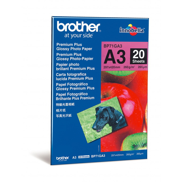 PAPIR BROTHER A3 GLOSSY 260G(20)