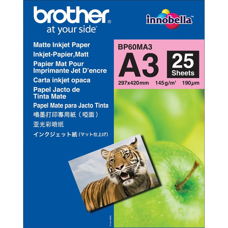PAPIR BROTHER A4 MATTE INKJET 145G(25)