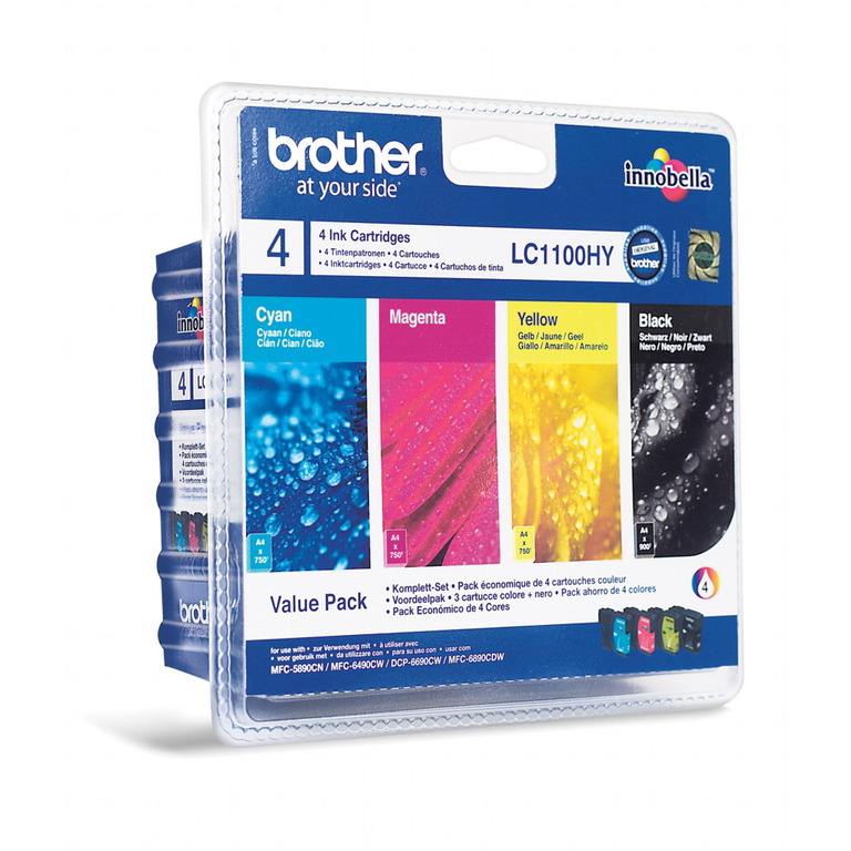 BLEKK BROTHER LC1100HY VALUEPACK