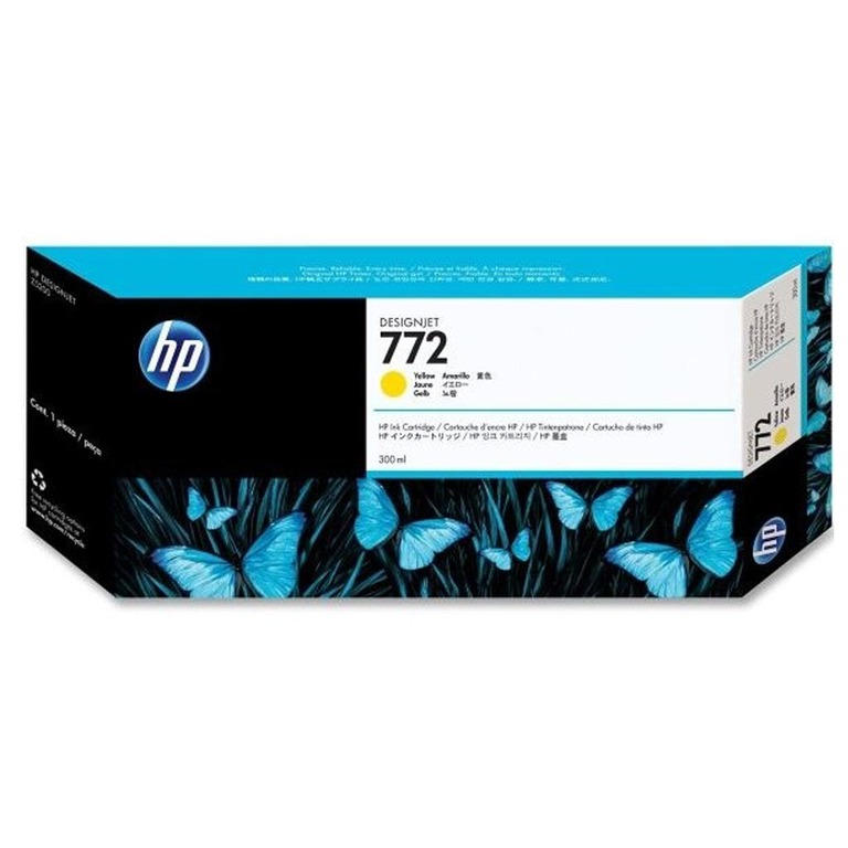 BLEKK HP NO772 GUL INK CARTRIDGE, 300 ML