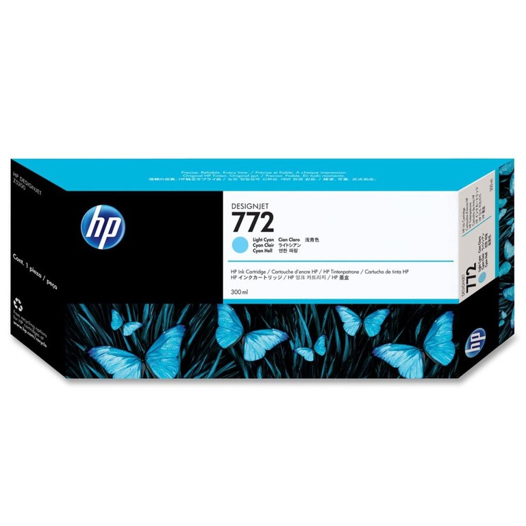 BLEKK HP NO772 LIGHT CYAN INK CARTRIDGE,