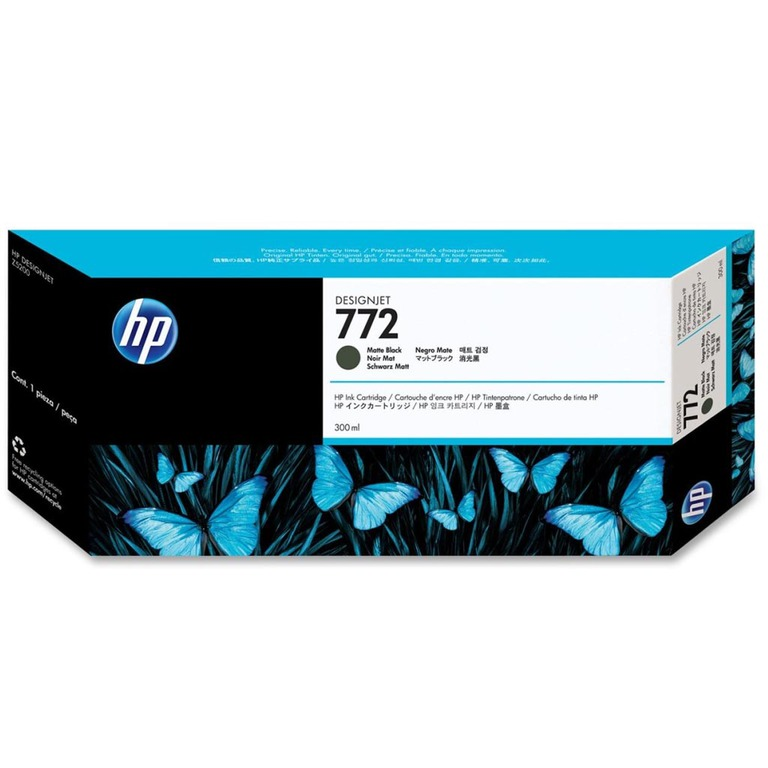 BLEKK HP NO772 MATTE SORT INK CARTRIDGE,