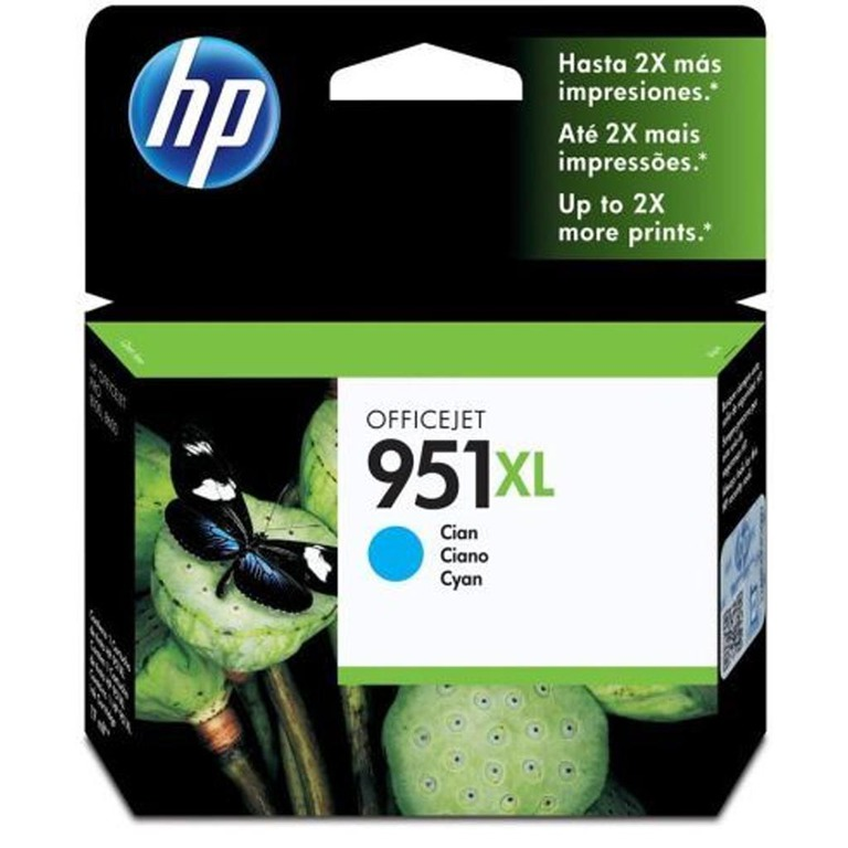 BLEKK HP NO951XL CYAN OFFICEJET INK CART