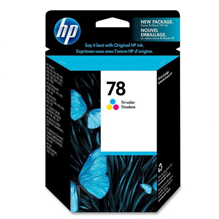 BLEKK HP NO78 COLOR INK CARTRIDGE, BLIST
