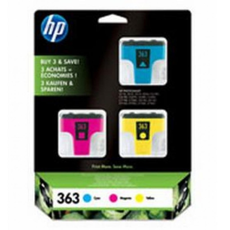 BLEKK HP NO363 INK CARTRIDGES 3-PACK FAR