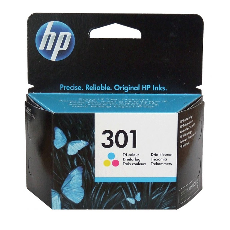 BLEKK HP NO301 COLOR INK CARTRIDGE, BLIS