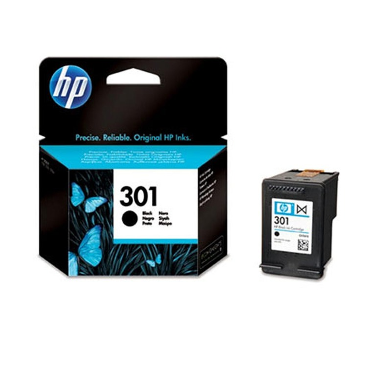 BLEKK HP NO301 SORT INK CARTRIDGE, BLIST