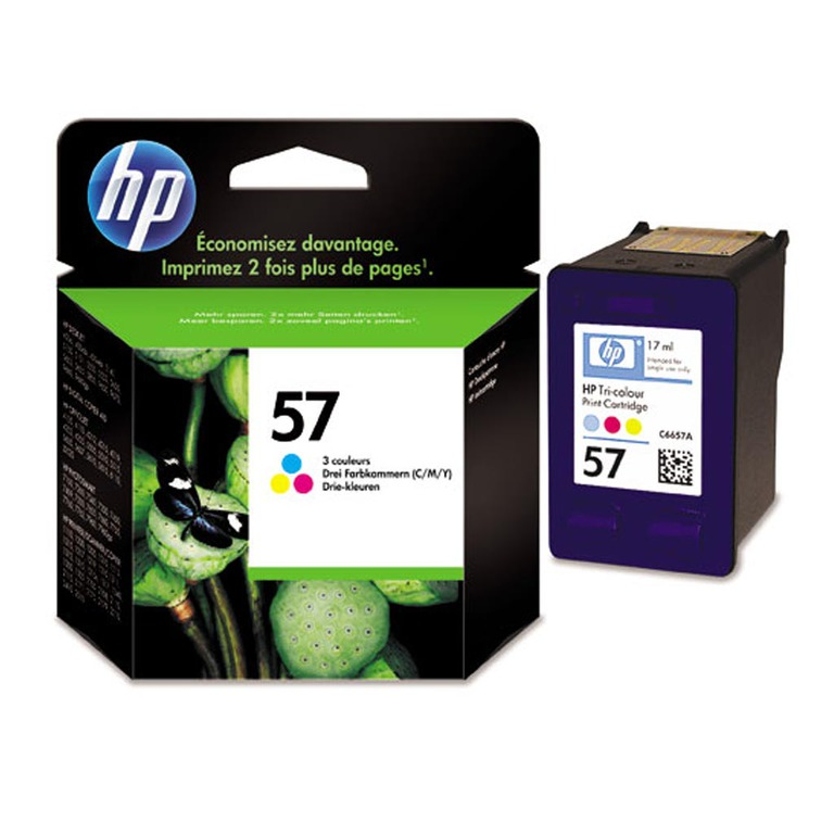 BLEKK HP NO57 COLOR INK CARTRIDGE, BLIST