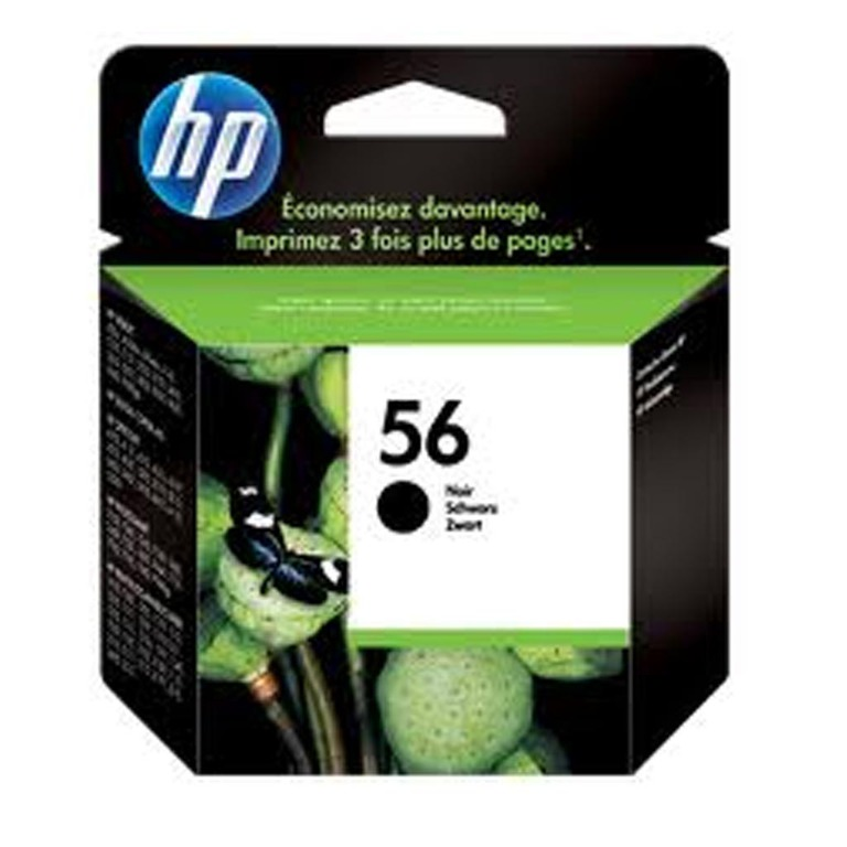 BLEKK HP NO56 SORT INK CARTRIDGE, BLISTE