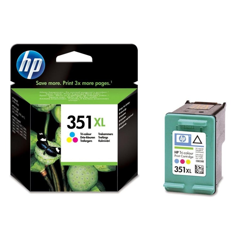 BLEKK HP NO351 XL COLOR INK CARTRIDGE, B