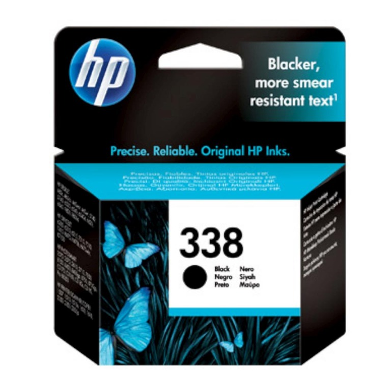 BLEKK HP NO338 SORT INK CARTRIDGE, BLIST