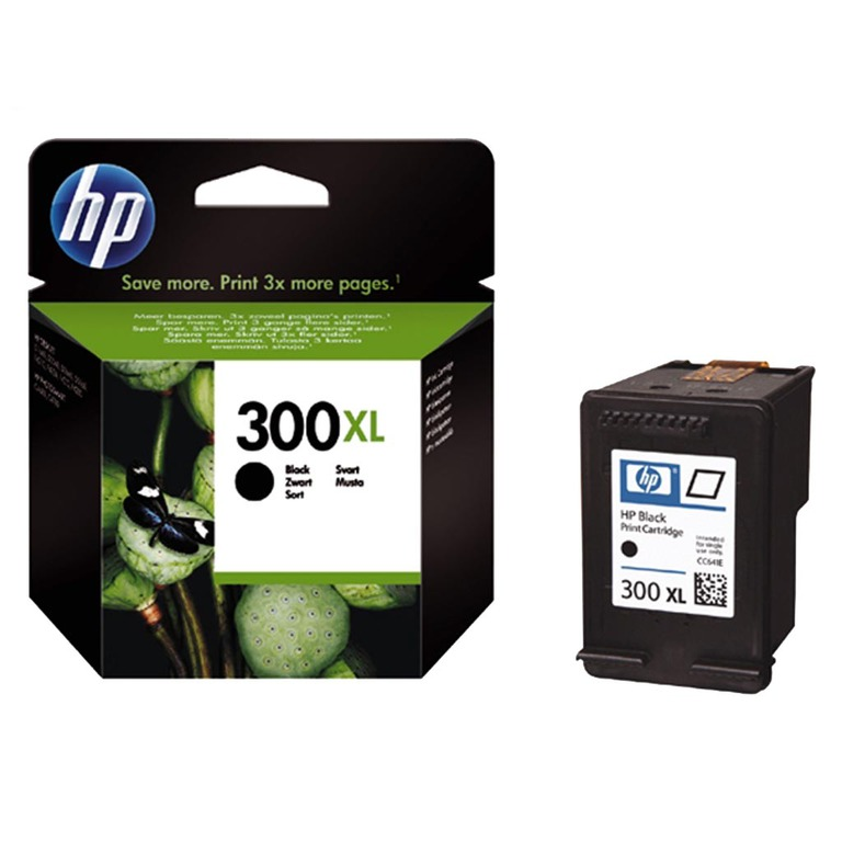 BLEKK HP NO300 XL SORT INK CARTRIDGE, BL