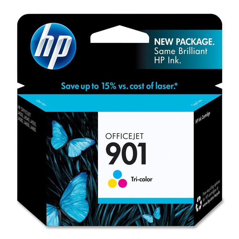 BLEKK HP NO901 COLOR INK CARTRIDGE, BLIS