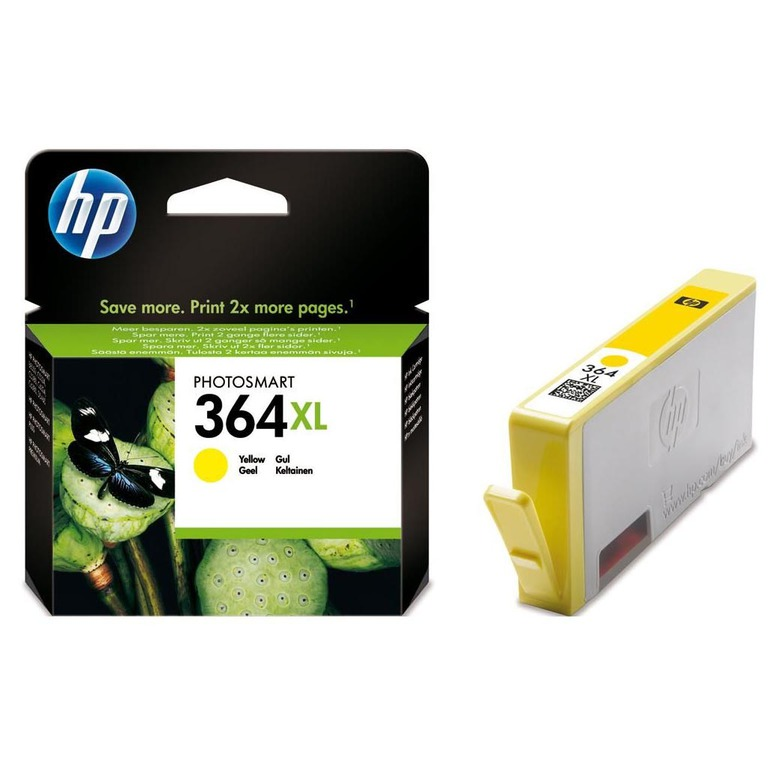 BLEKK HP NO364 XL GUL INK CARTRIDGE, BLI