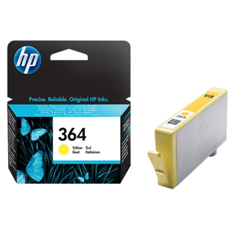 BLEKK HP NO364 GUL INK CARTRIDGE, BLISTE