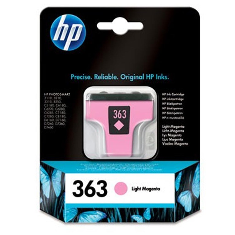 BLEKK HP NO363 LIGHT MAGENTA INK CARTRID