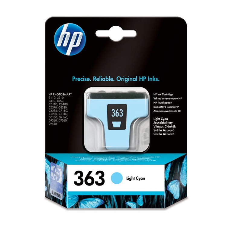 BLEKK HP NO363 LIGHT CYAN INK CARTRIDGE,