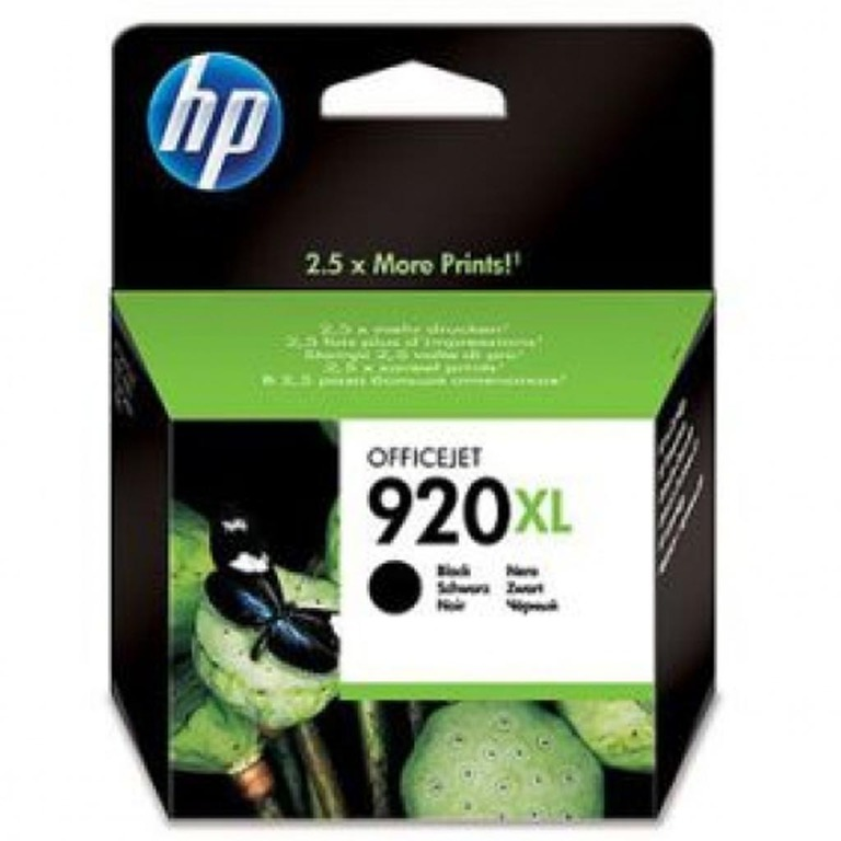 BLEKK HP NO920 XL OFFICEJET SORT INK CAR