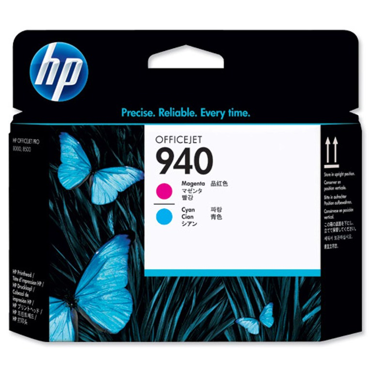 HP NO940 MAGENTA AND CYAN PRINTHEAD