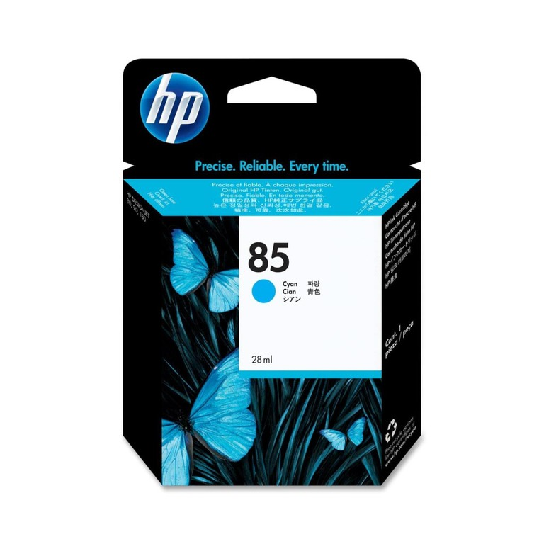 BLEKK HP NO85 CYAN INK CARTRIDGE 28ML