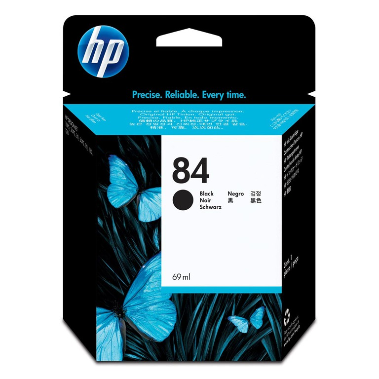 BLEKK HP NO84 SORT INK CARTRIDGE