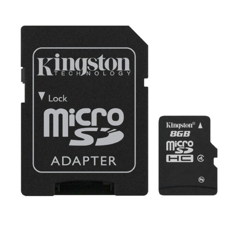 MINNEKORT FLASH SD 8GB KINGSTON