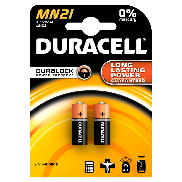 BATTERI DURACELL SECURITY MN21 (2)