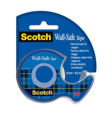 TAPE SCOTCH WALLSAFE D183 19MM