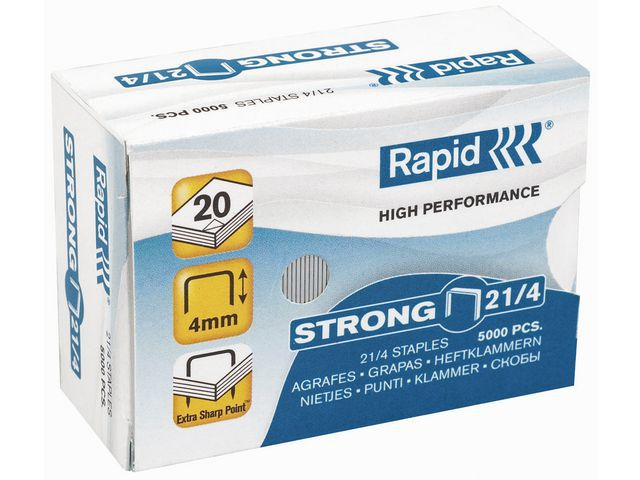 HEFTESTIFT RAPID STRONG 21/4 GALV. 5000