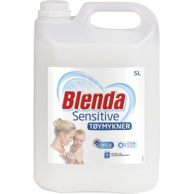TØYMYKNER BLENDA SENSITIVE 5L
