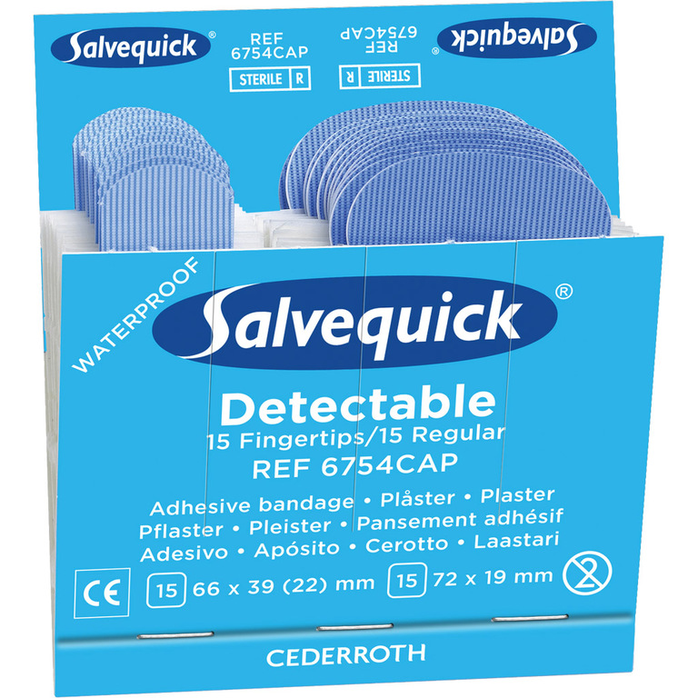 PLASTER DETECTABLE SALVEQUICK (180)