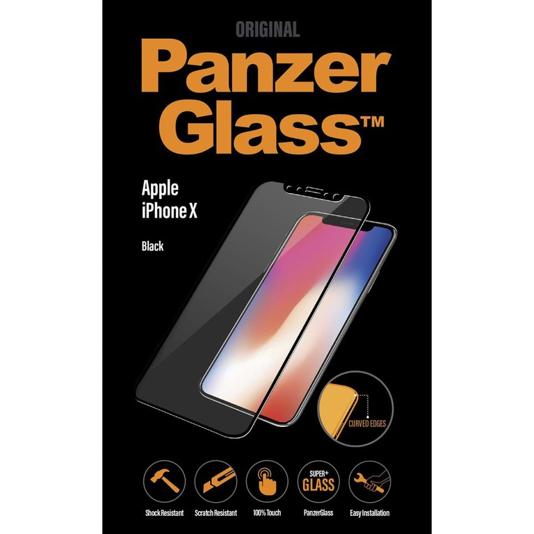 PANZERGLASS PREMIUM APPLE IPHONE X BLACK