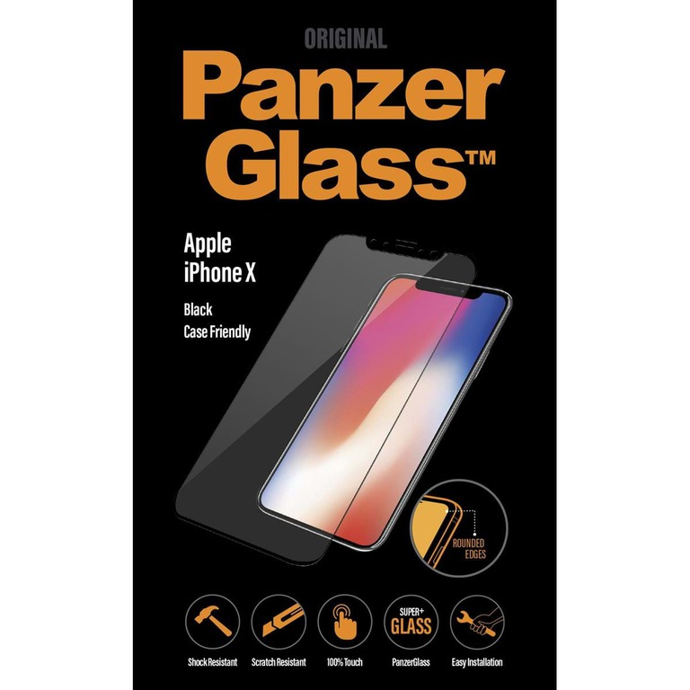 PANZERGLASS APPLE IPHONE X BLACK CASEFRI