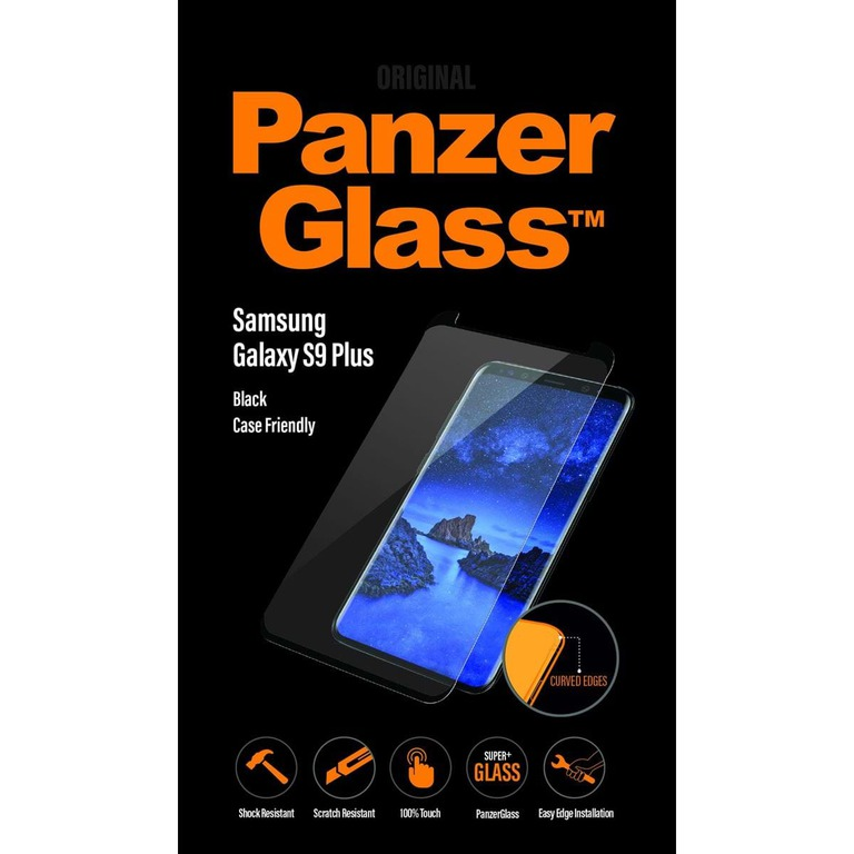 PANZERGLASS SAMSUNG GALAXY S9 PLUS BLACK