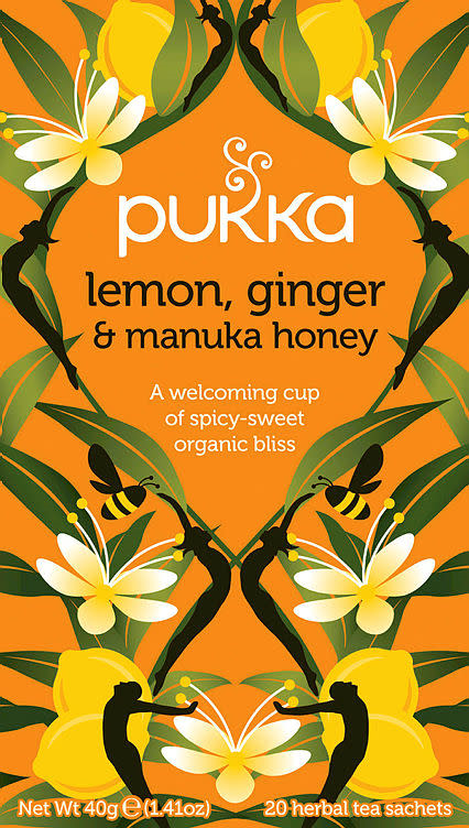 PUKKA LEMON GINGER AND HONEY URTETE 20PO