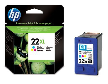 BLEKK HP NO22 XL COLOR